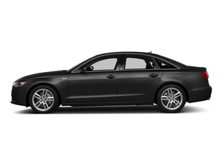 Brilliant Black 2015 Audi A6 Pictures A6 Sedan 4D TDI Prestige AWD photos side view
