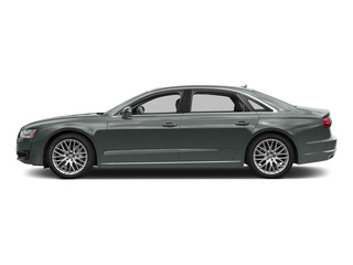 Monsoon Gray Metallic 2015 Audi A8 L Pictures A8 L Sedan 4D 4.0T L AWD V8 Turbo photos side view