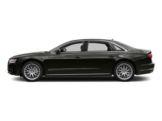 Havanna Black Metallic 2015 Audi A8 L Pictures A8 L Sedan 4D TDI L AWD V6 photos side view