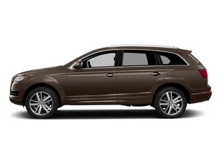 Teak Brown Metallic 2015 Audi Q7 Pictures Q7 Utility 4D 3.0 Premium AWD photos side view