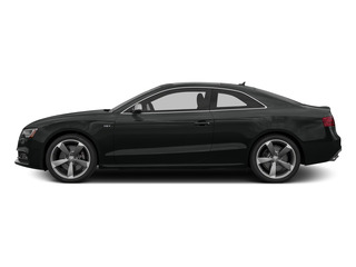 Mythos Black Metallic 2015 Audi S5 Pictures S5 Coupe 2D S5 Prestige AWD photos side view