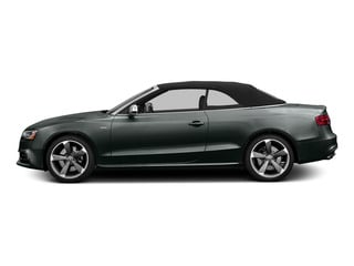 Monsoon Gray Metallic/Black Roof 2015 Audi S5 Pictures S5 Convertible 2D S5 Prestige AWD photos side view