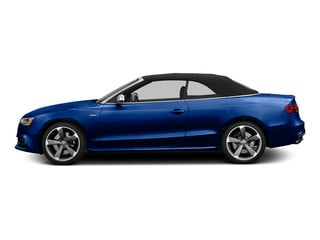 Sepang Blue Pearl Effect/Black Roof 2015 Audi S5 Pictures S5 Convertible 2D S5 Prestige AWD photos side view