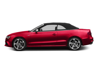 Misano Red Pearl Effect/Black Roof 2015 Audi S5 Pictures S5 Convertible 2D S5 Prestige AWD photos side view
