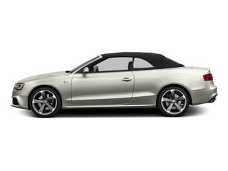Ibis White/Black Roof 2015 Audi S5 Pictures S5 Convertible 2D S5 Prestige AWD photos side view