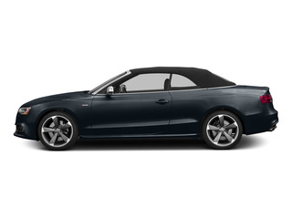 Moonlight Blue Metallic/Black Roof 2015 Audi S5 Pictures S5 Convertible 2D S5 Prestige AWD photos side view