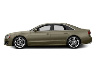Argus Brown Metallic 2015 Audi S8 Pictures S8 Sedan 4D S8 AWD V8 Turbo photos side view