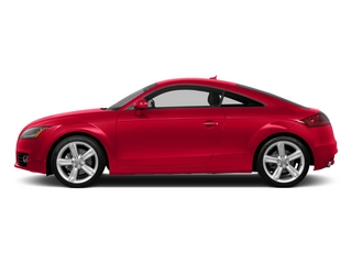 Misano Red Pearl Effect 2015 Audi TT Pictures TT Coupe 2D AWD photos side view