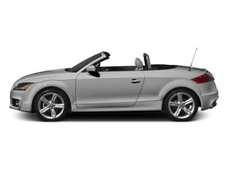 Ice Silver Metallic/Black Roof 2015 Audi TT Pictures TT Roadster 2D AWD photos side view