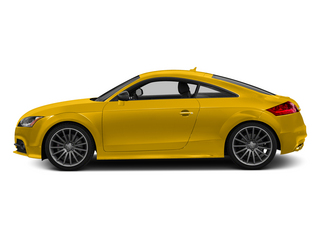 Imola Yellow 2015 Audi TTS Pictures TTS Coupe 2D AWD photos side view