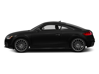 Phantom Black Pearl Effect 2015 Audi TTS Pictures TTS Coupe 2D AWD photos side view