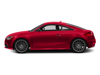Misano Red Pearl Effect 2015 Audi TTS Pictures TTS Coupe 2D AWD photos side view