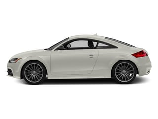 Ibis White 2015 Audi TTS Pictures TTS Coupe 2D AWD photos side view