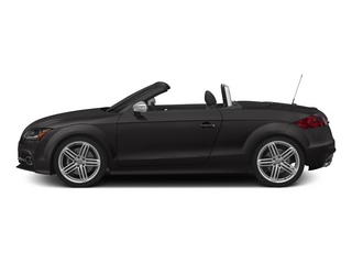 Oolong Gray Metallic/Black Roof 2015 Audi TTS Pictures TTS Roadster 2D AWD photos side view