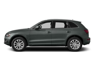 Monsoon Gray Metallic 2015 Audi Q5 Pictures Q5 Utility 4D 3.0T Prestige AWD photos side view