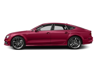 Garnet Red Pearl Effect 2015 Audi A7 Pictures A7 Sedan 4D TDI Prestige AWD T-Diesel photos side view