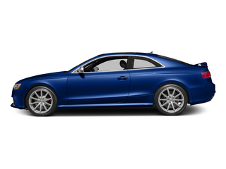 Sepang Blue Pearl Effect 2015 Audi RS 5 Pictures RS 5 Coupe 2D RS5 AWD V8 photos side view