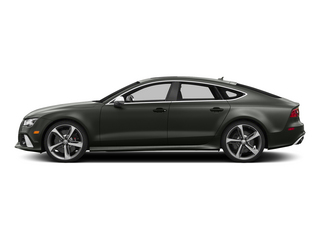 Daytona Gray Pearl Effect 2015 Audi RS 7 Pictures RS 7 Sedan 4D Prestige AWD photos side view