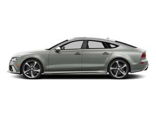 Suzuka Gray Metallic 2015 Audi RS 7 Pictures RS 7 Sedan 4D Prestige AWD photos side view
