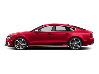 Misano Red Pearl Effect 2015 Audi RS 7 Pictures RS 7 Sedan 4D Prestige AWD photos side view