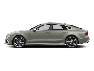 Prism Silver Crystal Effect 2015 Audi RS 7 Pictures RS 7 Sedan 4D Prestige AWD photos side view