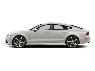 Ibis White 2015 Audi RS 7 Pictures RS 7 Sedan 4D Prestige AWD photos side view