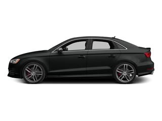 Mythos Black Metallic 2015 Audi S3 Pictures S3 Sedan 4D Prestige AWD I4 Turbo photos side view