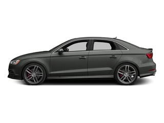 Daytona Gray Pearl Effect 2015 Audi S3 Pictures S3 Sedan 4D Premium Plus AWD I4 Turbo photos side view