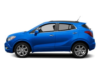 Brilliant Blue Metallic 2015 Buick Encore Pictures Encore Utility 4D Premium 2WD I4 Turbo photos side view