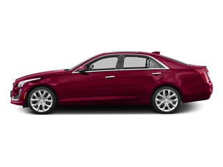 Red Obsession Tintcoat 2015 Cadillac CTS Sedan Pictures CTS Sedan 4D V-Sport Premium V6 Turbo photos side view