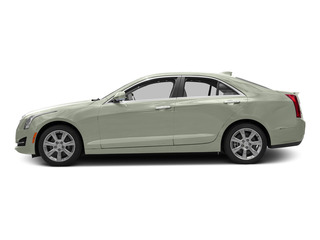 Crystal White Tricoat 2015 Cadillac ATS Sedan Pictures ATS Sedan 4D Luxury V6 photos side view