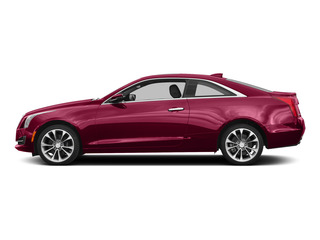 Red Obsession Tintcoat 2015 Cadillac ATS Coupe Pictures ATS Coupe 2D Premium AWD V6 photos side view