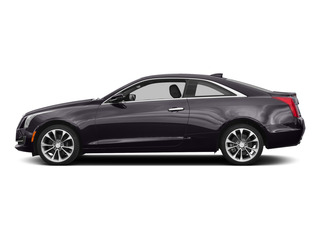 Majestic Plum Metallic 2015 Cadillac ATS Coupe Pictures ATS Coupe 2D Premium AWD V6 photos side view