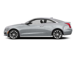 Radiant Silver Metallic 2015 Cadillac ATS Coupe Pictures ATS Coupe 2D Premium AWD V6 photos side view