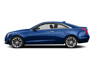 Opulent Blue Metallic 2015 Cadillac ATS Coupe Pictures ATS Coupe 2D Premium AWD V6 photos side view