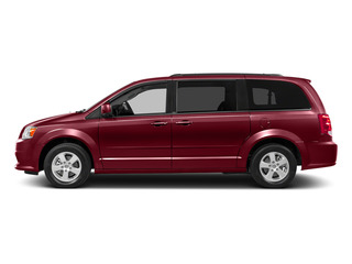 Deep Cherry Red Crystal Pearlcoat 2015 Dodge Grand Caravan Pictures Grand Caravan Grand Caravan SXT V6 photos side view