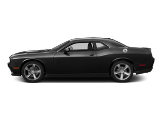 Pitch Black Clearcoat 2015 Dodge Challenger Pictures Challenger Coupe 2D SRT Hellcat V8 Supercharged photos side view
