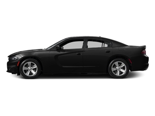 Pitch Black 2015 Dodge Charger Pictures Charger Sedan 4D SRT 392 V8 photos side view