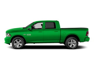 Hills Green 2015 Ram Truck 1500 Pictures 1500 Crew Cab Express 4WD photos side view