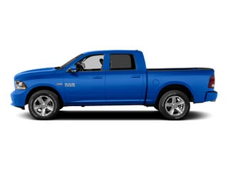 Holland Blue 2015 Ram Truck 1500 Pictures 1500 Crew Cab Express 4WD photos side view