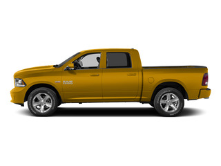 School Bus Yellow 2015 Ram Truck 1500 Pictures 1500 Crew Cab Express 4WD photos side view