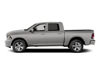 Bright Silver Metallic Clearcoat 2015 Ram Truck 1500 Pictures 1500 Crew Cab Laramie 4WD photos side view