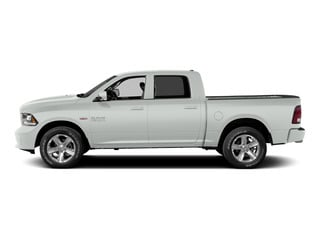 Bright White Clearcoat 2015 Ram Truck 1500 Pictures 1500 Crew Cab Laramie 2WD photos side view