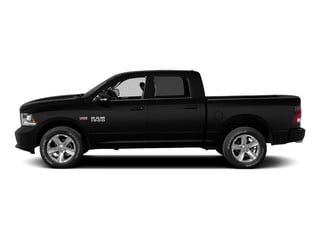 Black Clearcoat 2015 Ram Truck 1500 Pictures 1500 Crew Cab Laramie 2WD photos side view