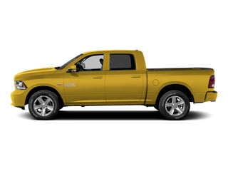 Detonator Yellow Clearcoat 2015 Ram Truck 1500 Pictures 1500 Crew Cab Express 4WD photos side view
