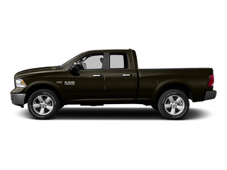 Dark Brown 2015 Ram Truck 1500 Pictures 1500 Quad Cab Express 4WD photos side view
