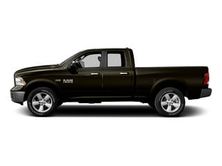 Dark Brown 2015 Ram Truck 1500 Pictures 1500 Quad Cab SLT 4WD photos side view
