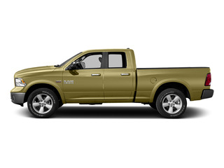 Light Cream 2015 Ram Truck 1500 Pictures 1500 Quad Cab SLT 2WD photos side view