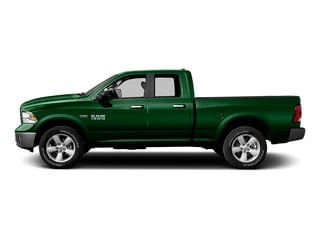 Tree Green 2015 Ram Truck 1500 Pictures 1500 Quad Cab Express 4WD photos side view
