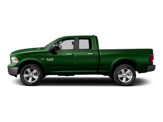 Tree Green 2015 Ram Truck 1500 Pictures 1500 Quad Cab SLT 4WD photos side view
